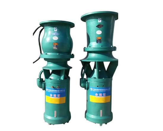 QSZ/QSH轴、混流水泵,主要用于平原区,扬程2.5-80m,流量450-4000m³/h,排灌面积在1000-6000亩左右的中小型机电排灌站上。该机特点是:水泵与电机连成一体,同时潜入水中工作,可远距离操作或自动控制。可不建泵房,不需地面建筑设施,从而大大节省建站投资。该机还具有结构简单,安装使用、维修方便,运行安全可靠,泵站装置效率高等优点。